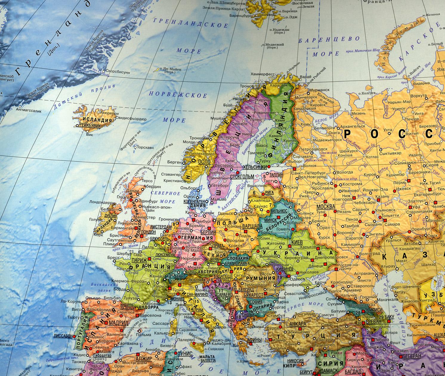Karta Evropy Evropa Avtomobilnaya Karta Evropy Skachat Besplatno